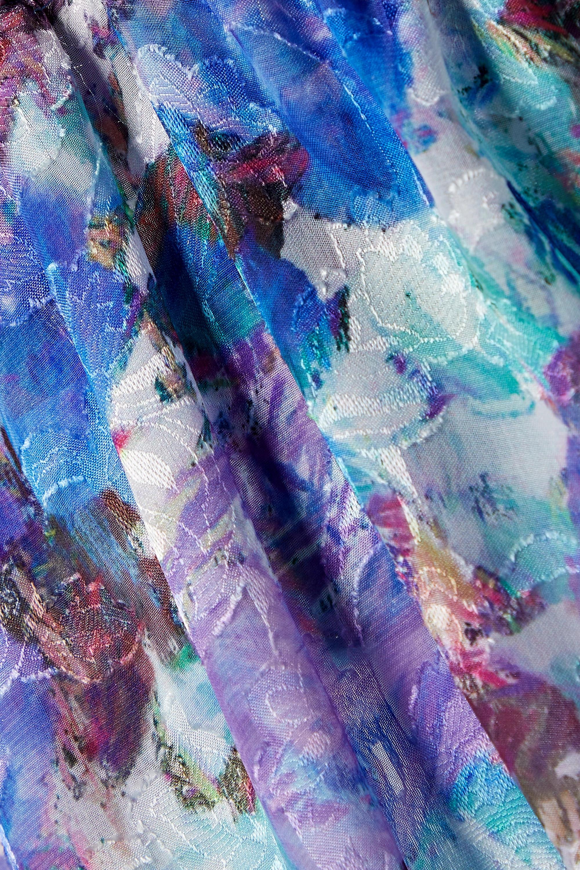 PatBO Blossom Maxikleid aus Jacquard mit Blumenprint und Cut-out