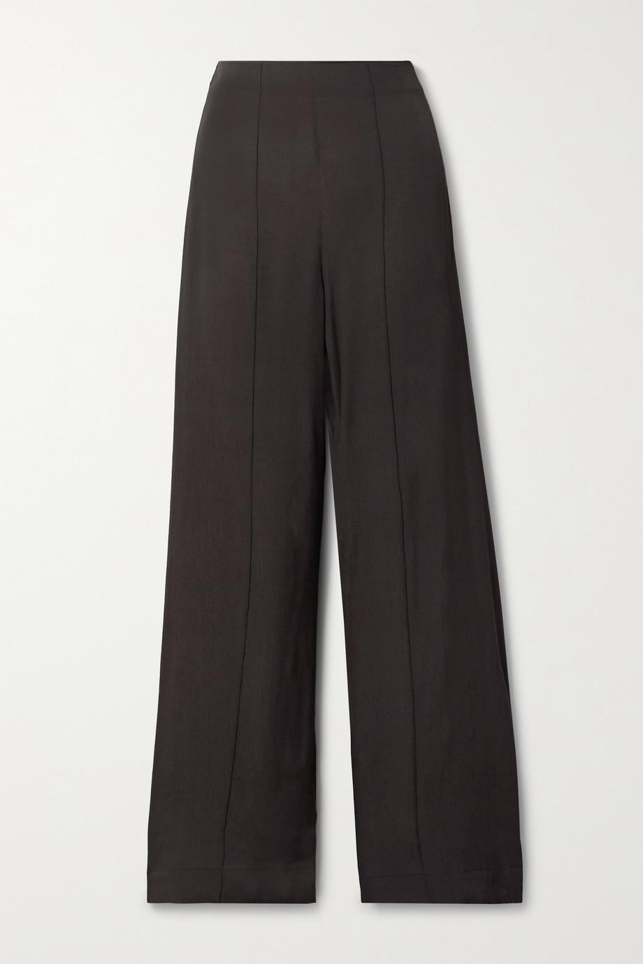 Haight Vanessa crepe wide-leg pants