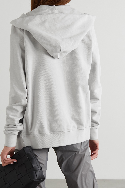 Rick Owens + Champion Jason's embroidered organic cotton-jersey hoodie