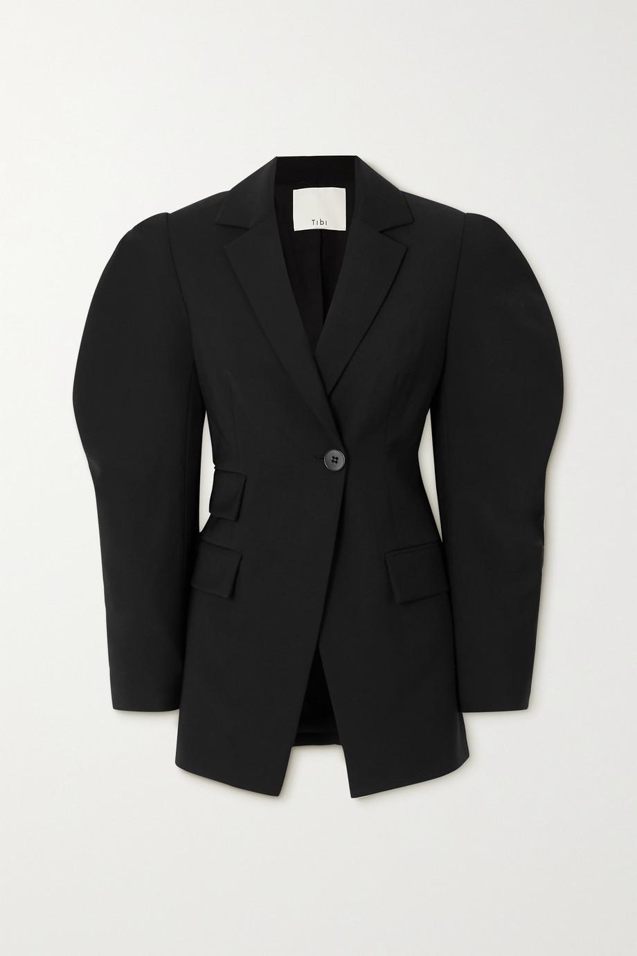 Tibi Wool-crepe blazer