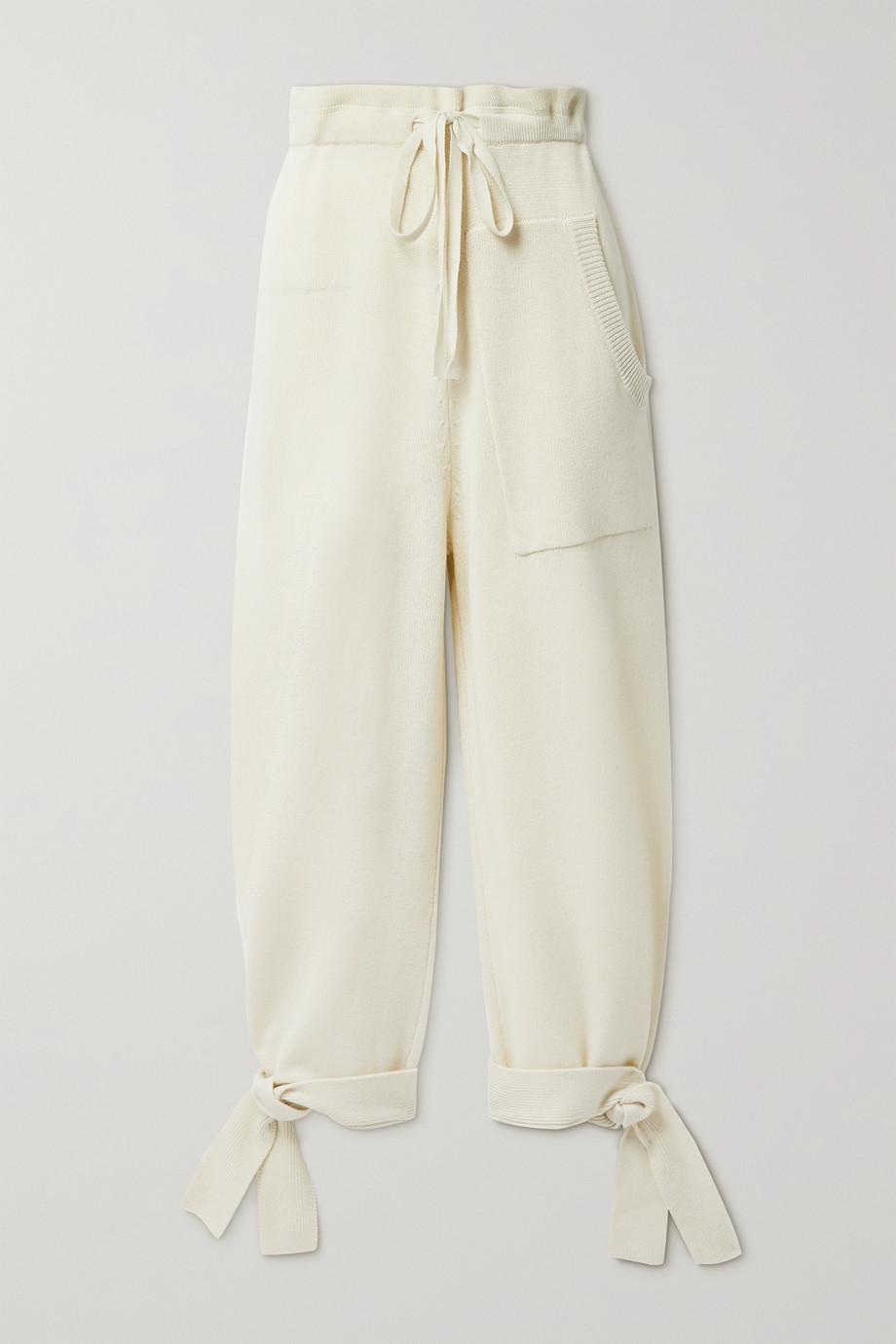 Tibi Cashmere track pants