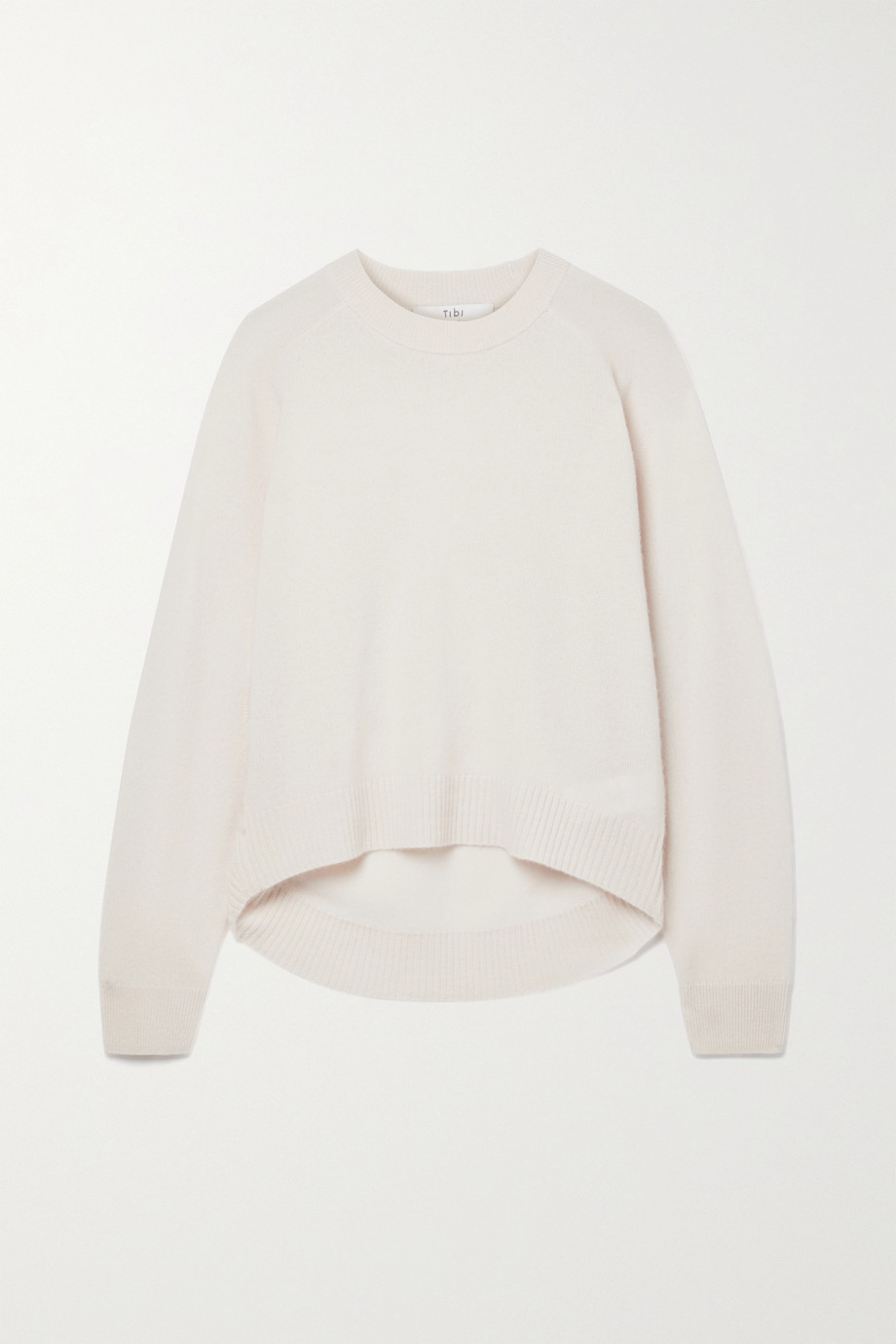 Tibi Convertible cutout cashmere sweater