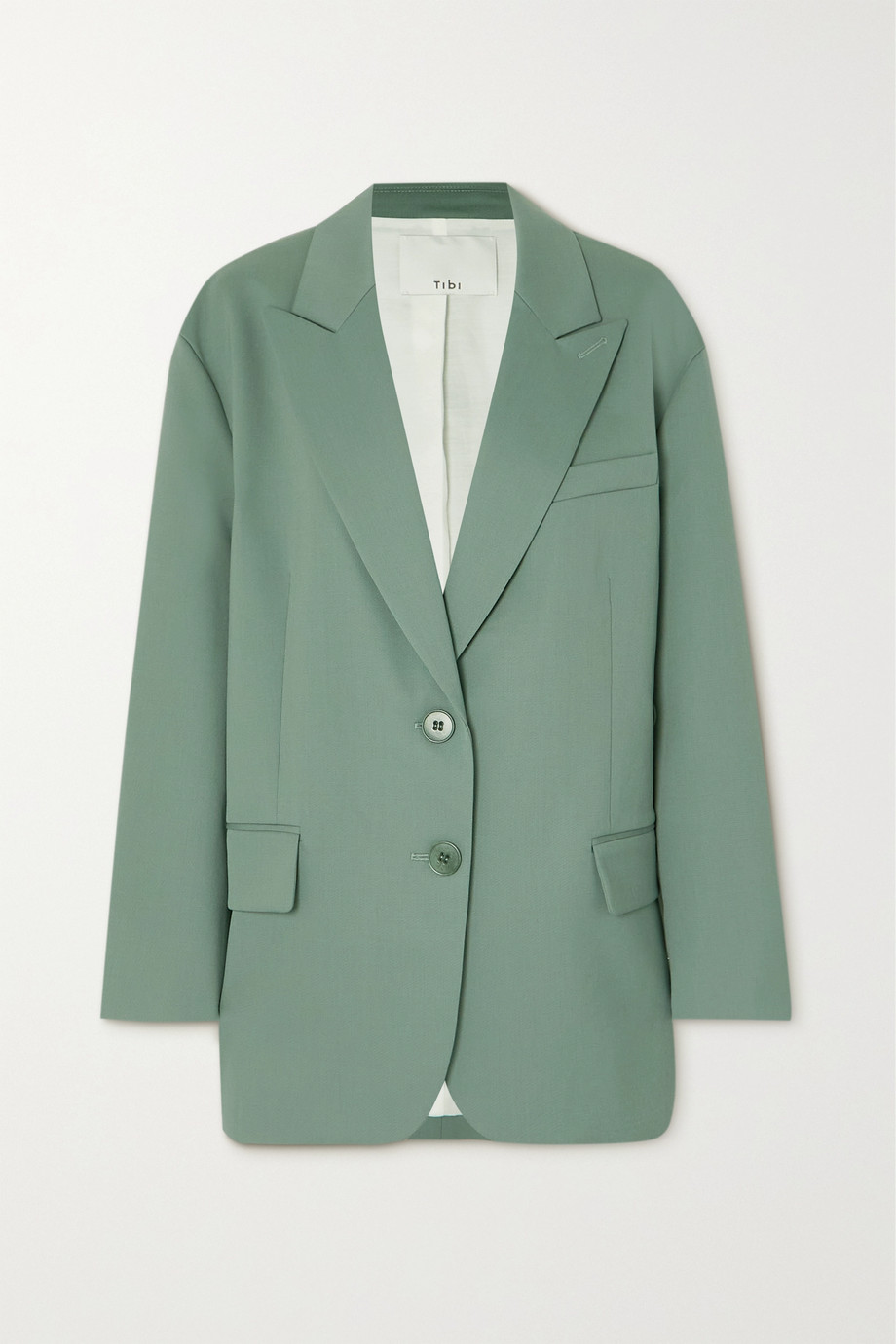 Tibi Cassius wool-blend blazer