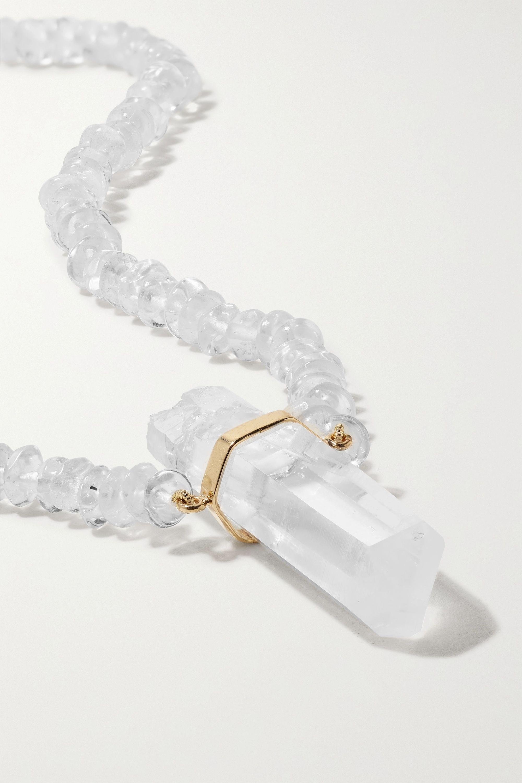 JIA JIA Gold quartz necklace