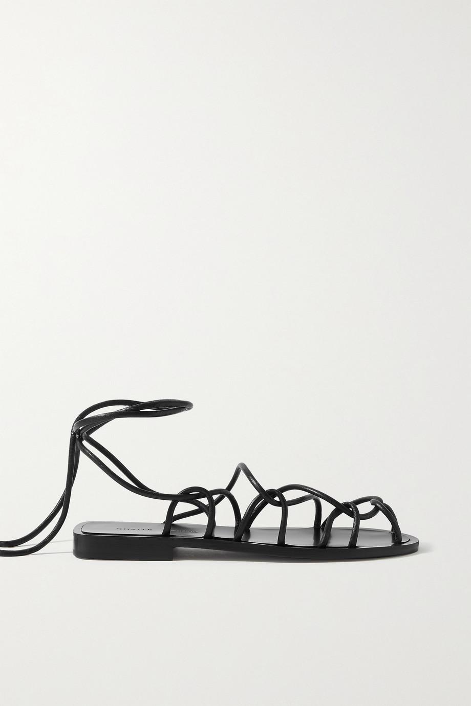 Khaite Lyon Sandalen aus Leder