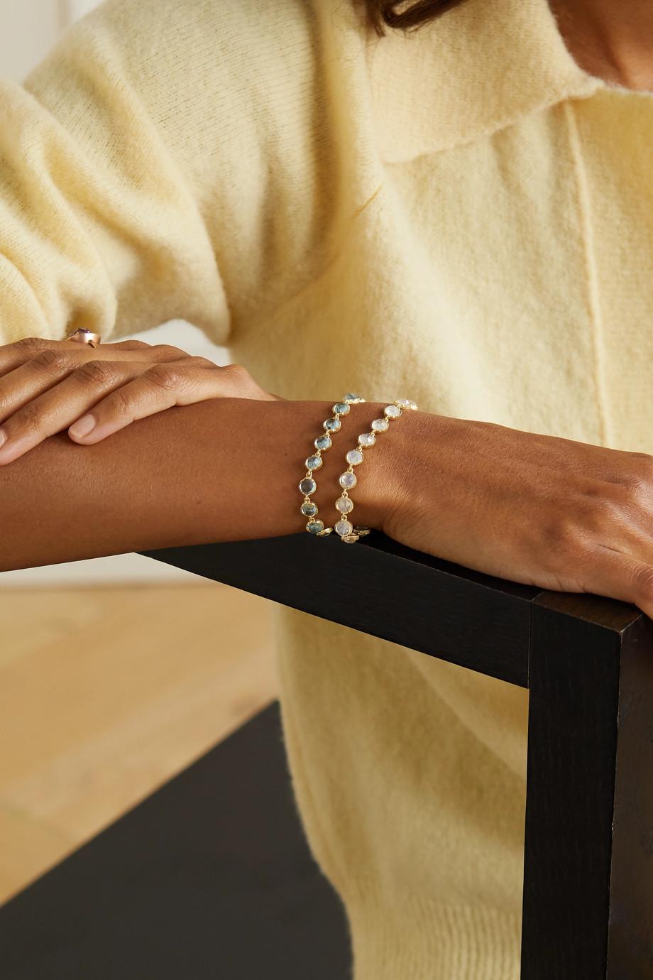 Irene Neuwirth Classic Armband aus 18 Karat Gold mit Mondsteinen