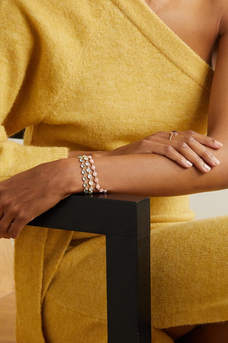 Irene Neuwirth Classic Armband aus 18 Karat Roségold mit Opalen