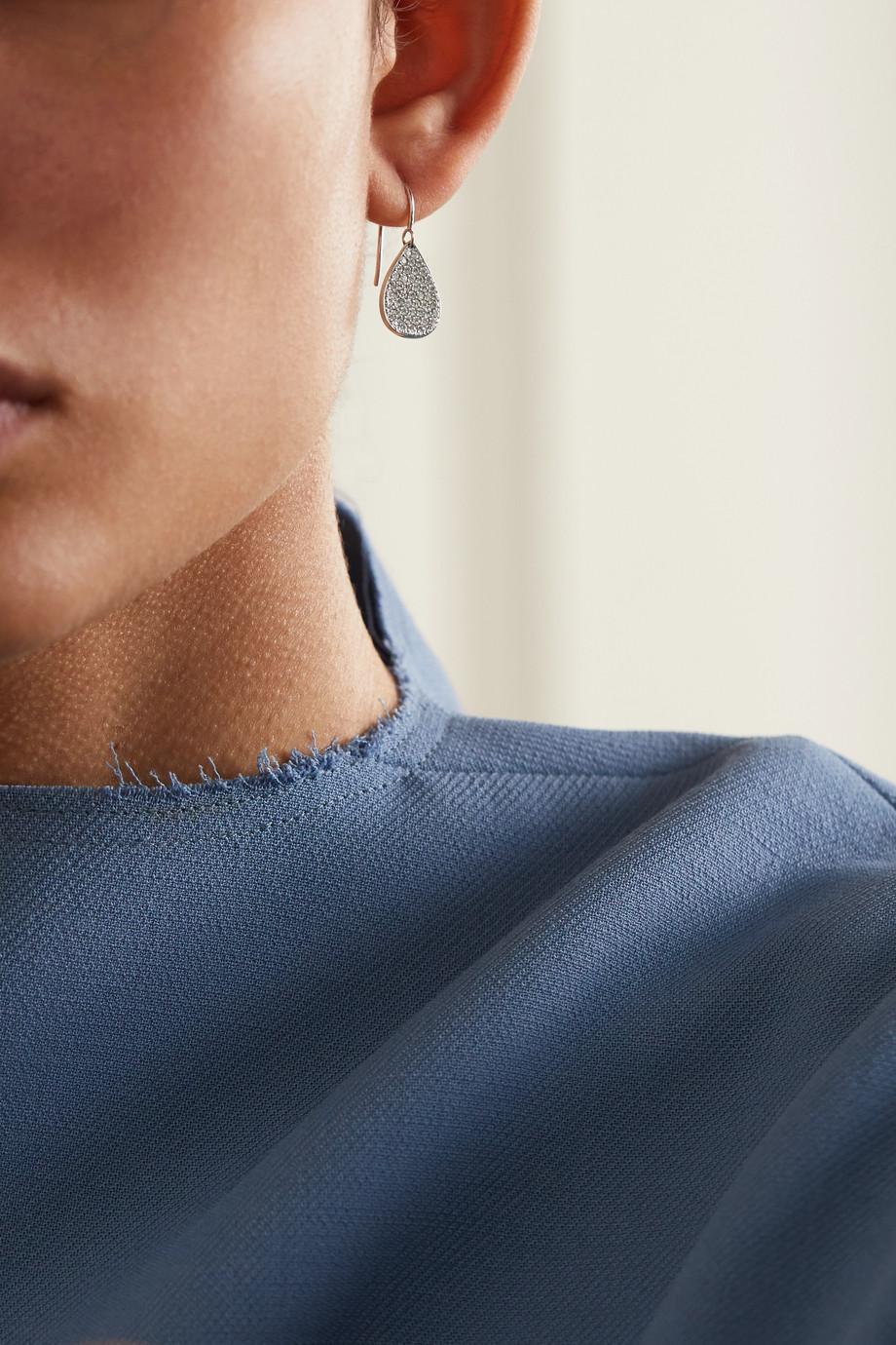 Irene Neuwirth 18K 白金钻石耳环