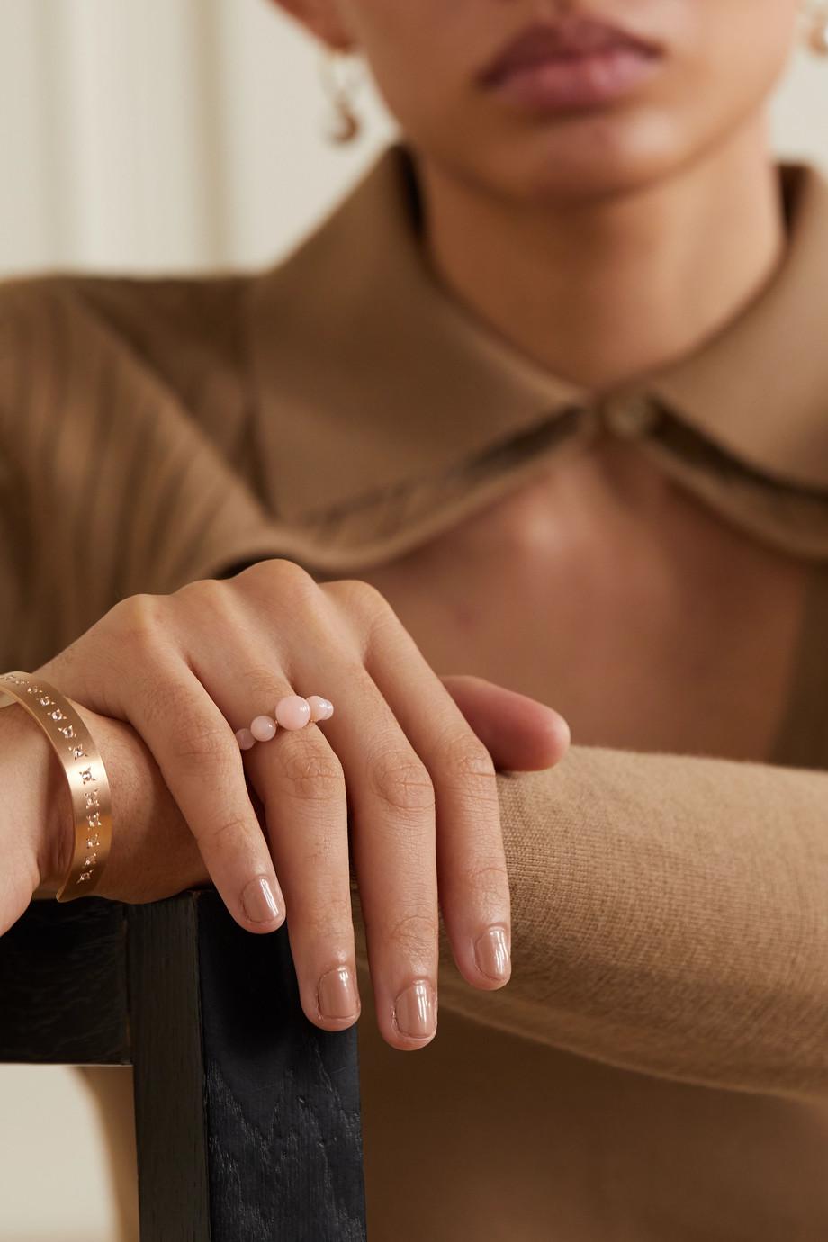 Irene Neuwirth Gumball 18-karat rose gold opal ring
