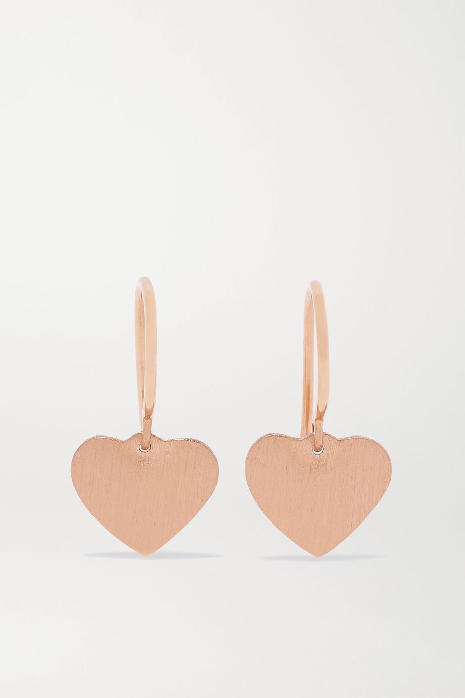 Irene Neuwirth Love 18-karat rose gold earrings