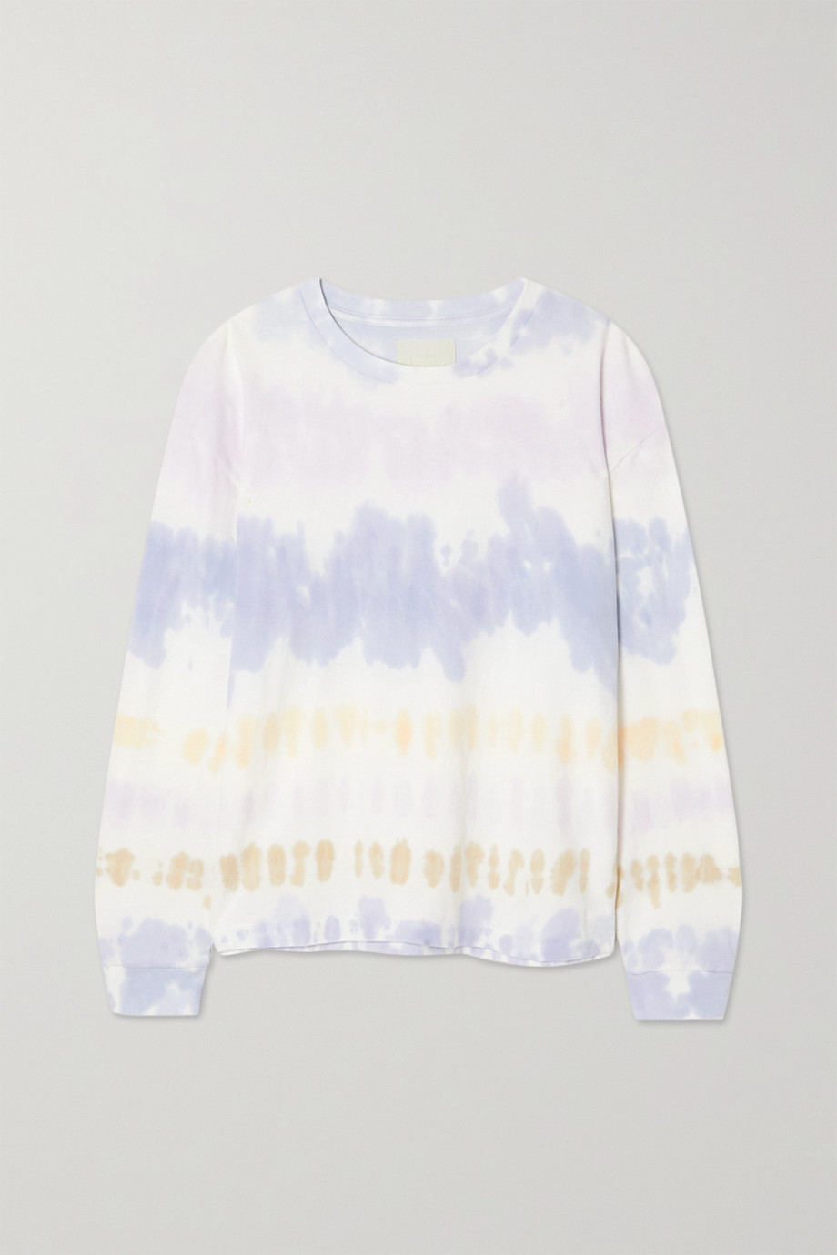 Citizens of Humanity Oversized tie-dyed cotton-jersey T-shirt