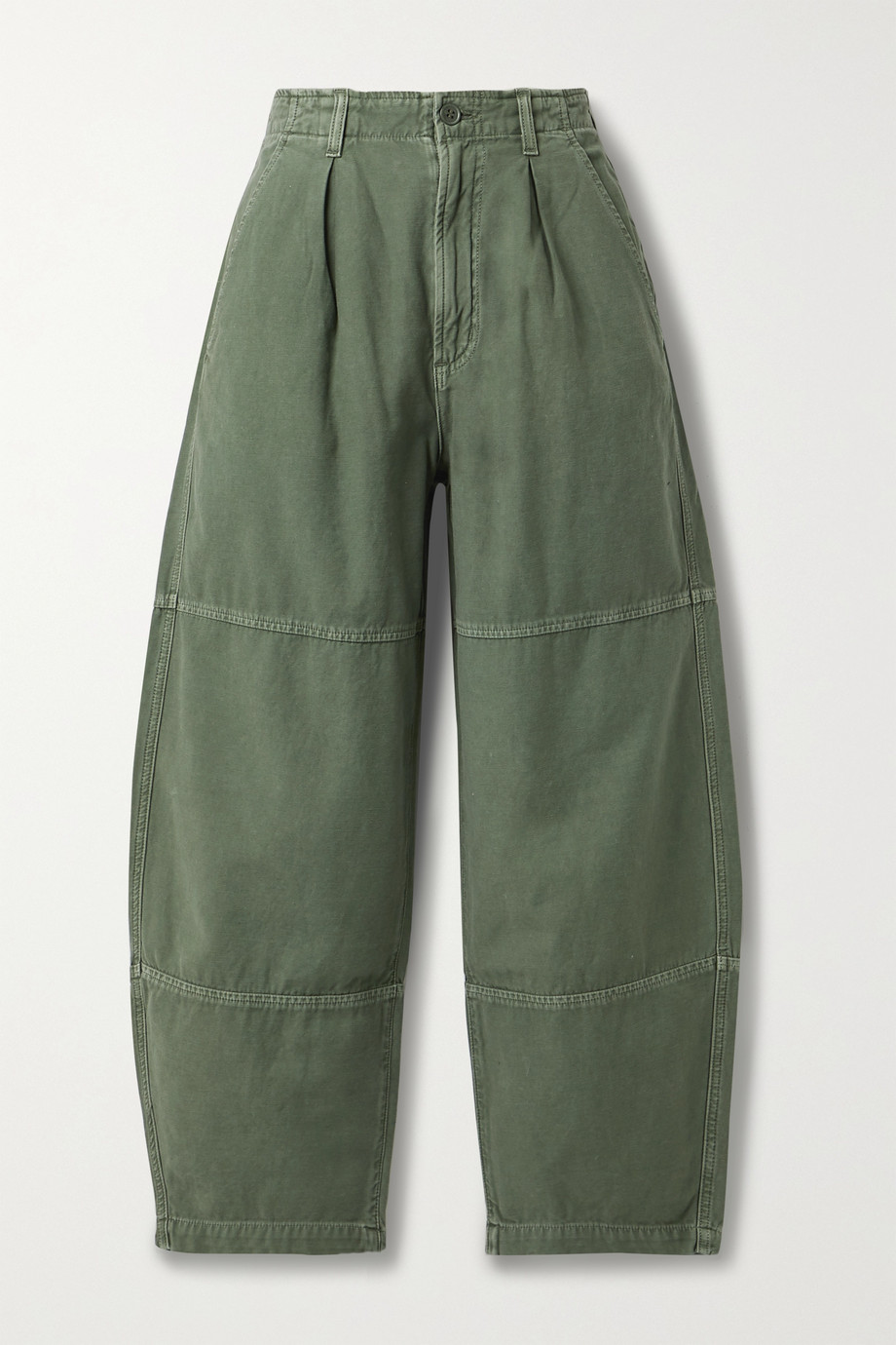 Citizens of Humanity Hadley paneled cotton-twill pants