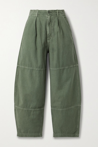 Citizens Of Humanity Cottons HADLEY PANELED COTTON-TWILL PANTS