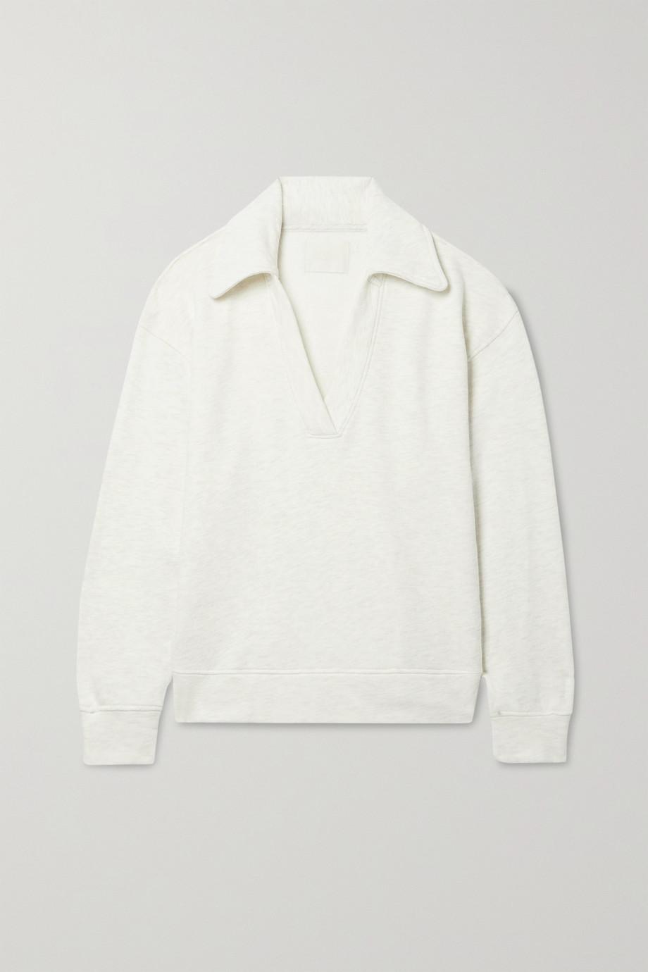 Citizens of Humanity Rosalia mélange cotton-jersey sweatshirt