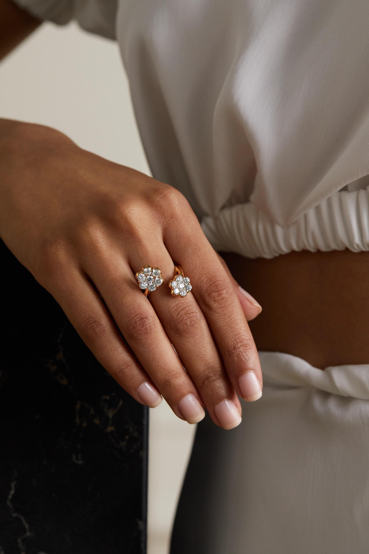 Bayco Ring aus 18 Karat Roségold mit Diamanten