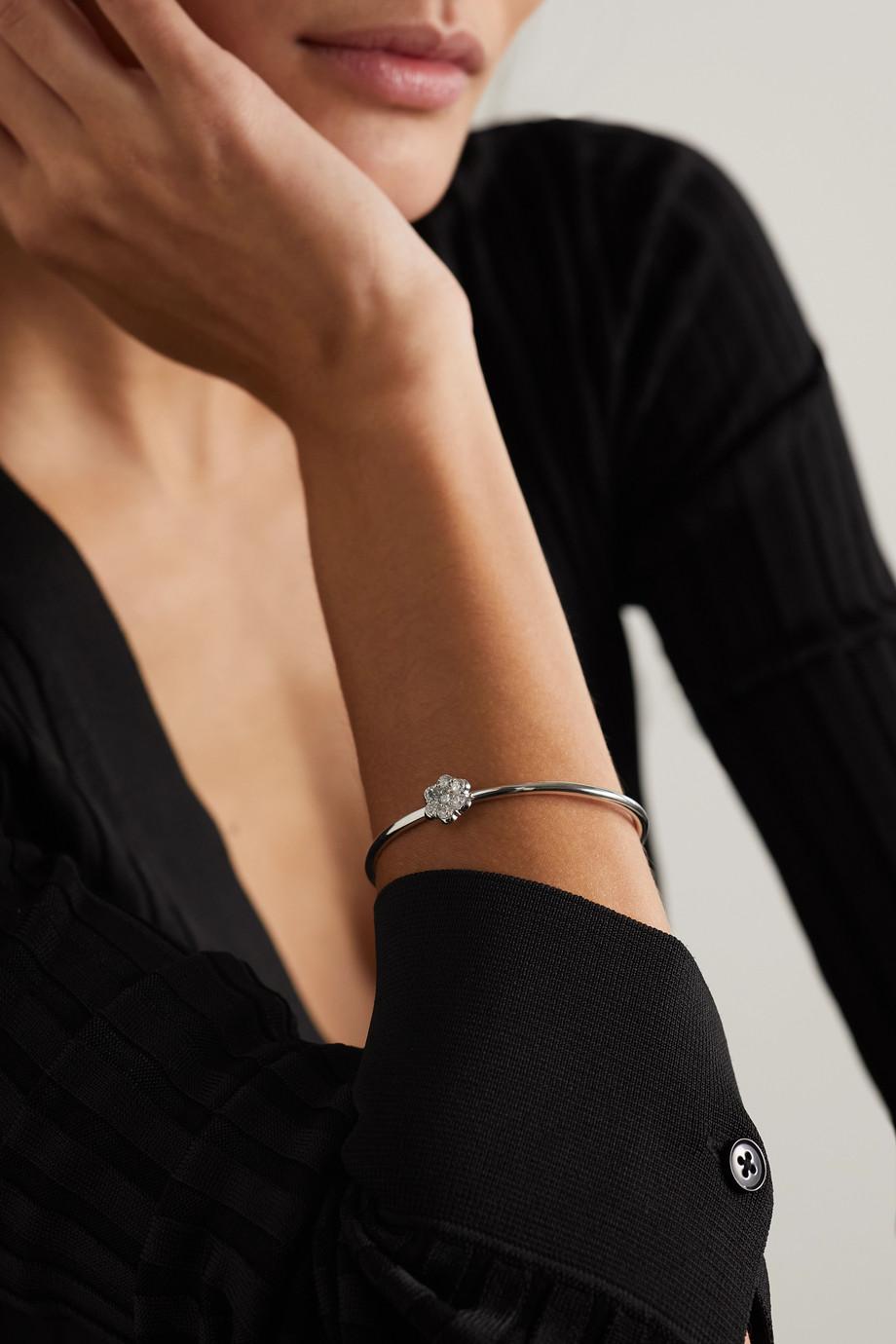 Bayco 18-karat white gold diamond bracelet