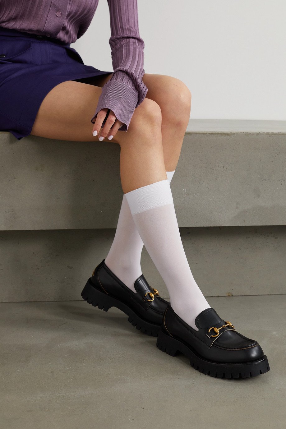 Dries Van Noten 20 denier socks