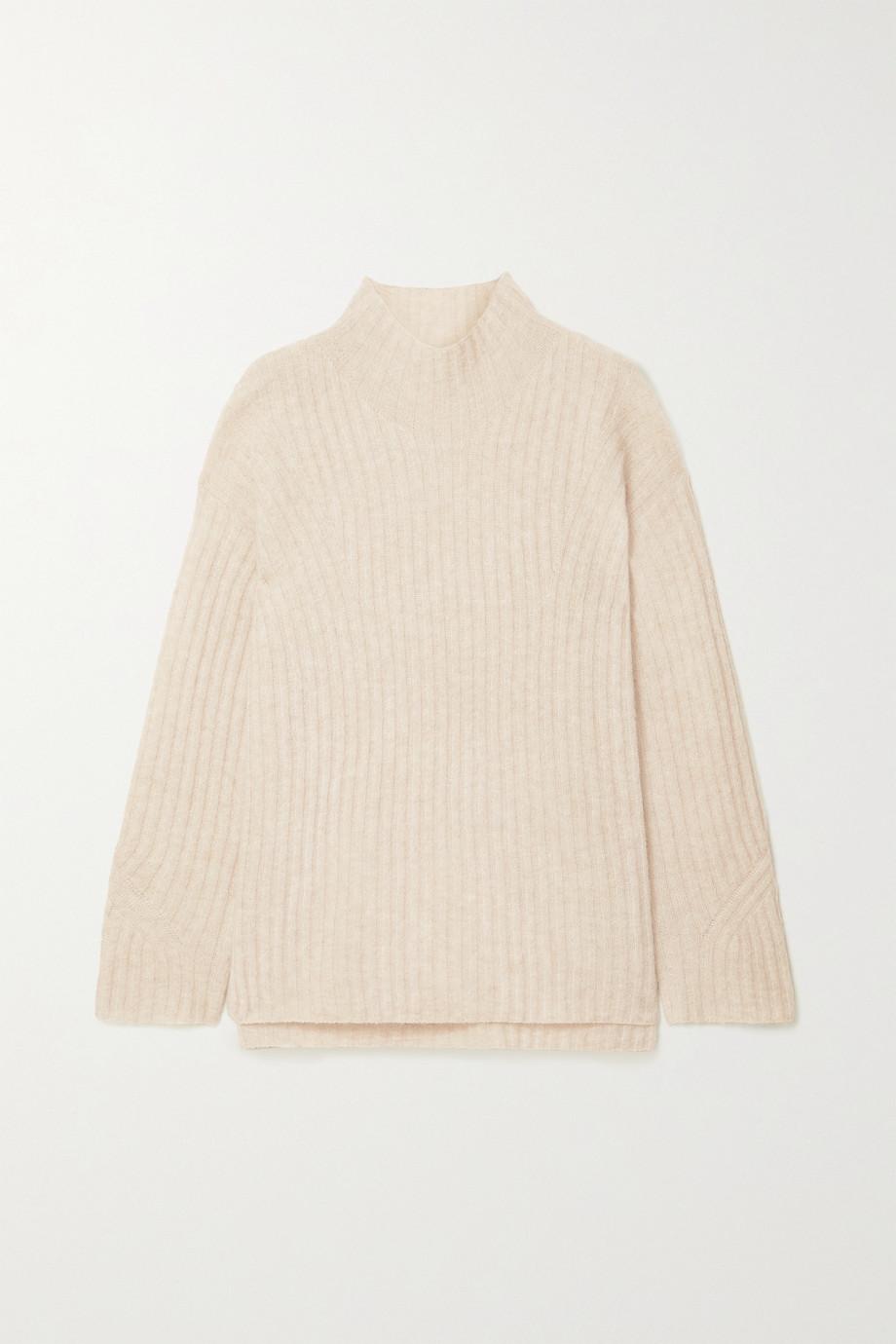 By Malene Birger Cyrhila Oversized-Pullover aus Rippstrick