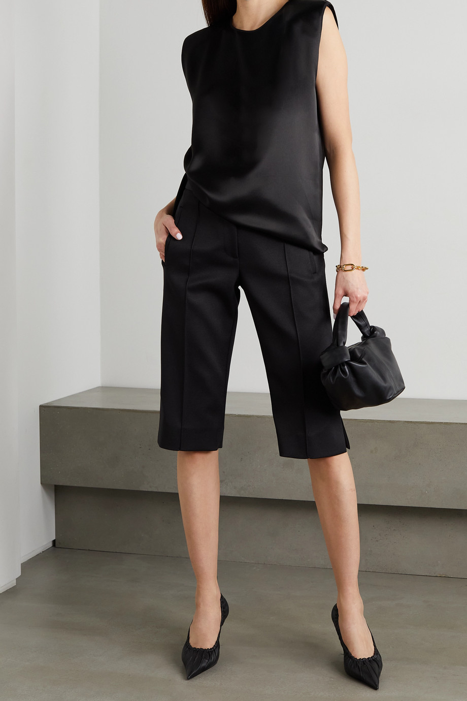 By Malene Birger Lenega satin tank