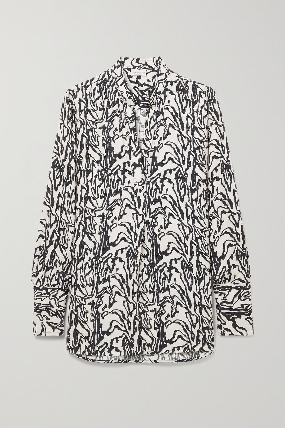 By Malene Birger Mabillion printed twill blouse