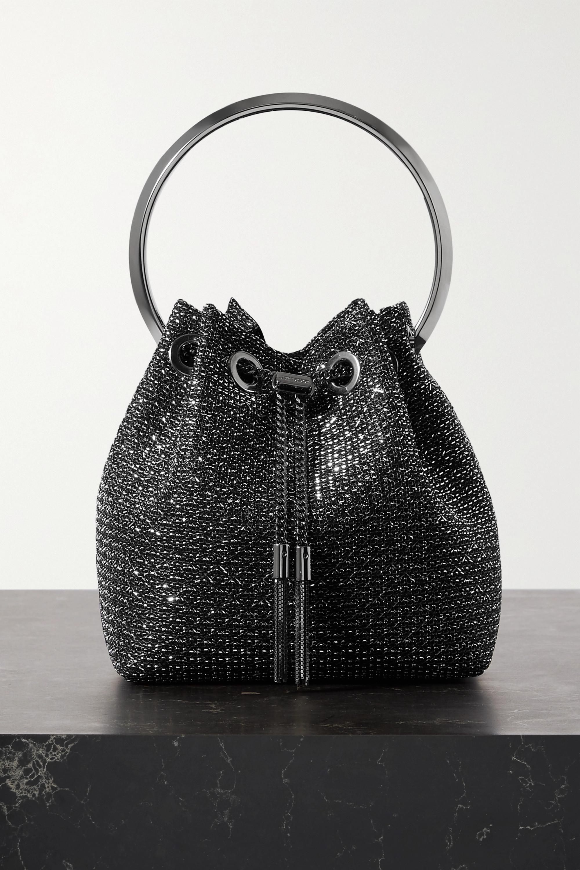 Jimmy Choo Bon Bon Lurex bucket bag