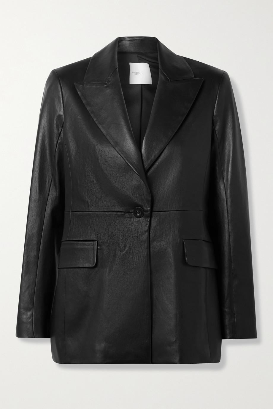 Rosetta Getty Leather blazer