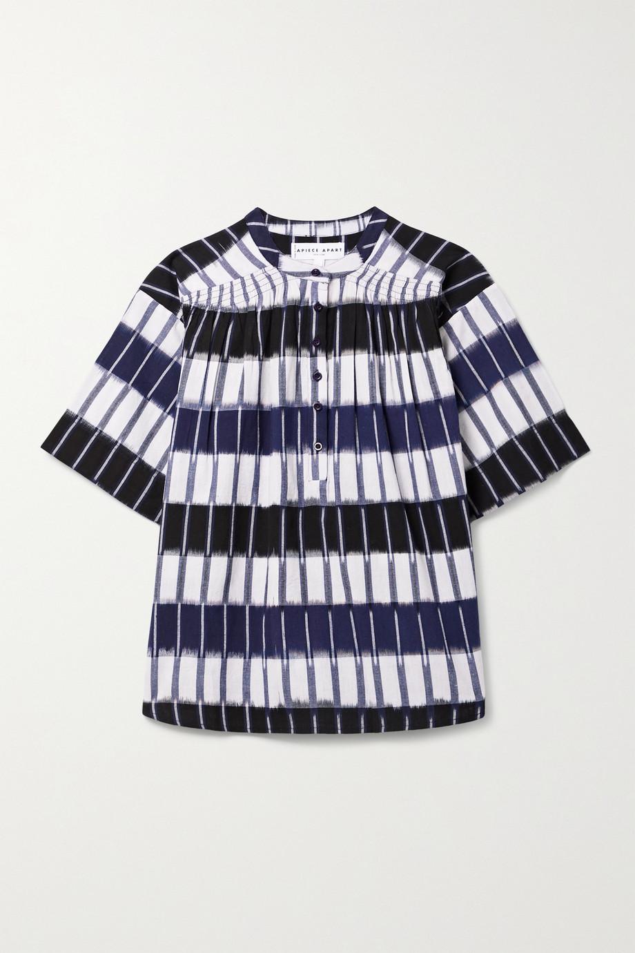 APIECE APART Mission striped cotton top