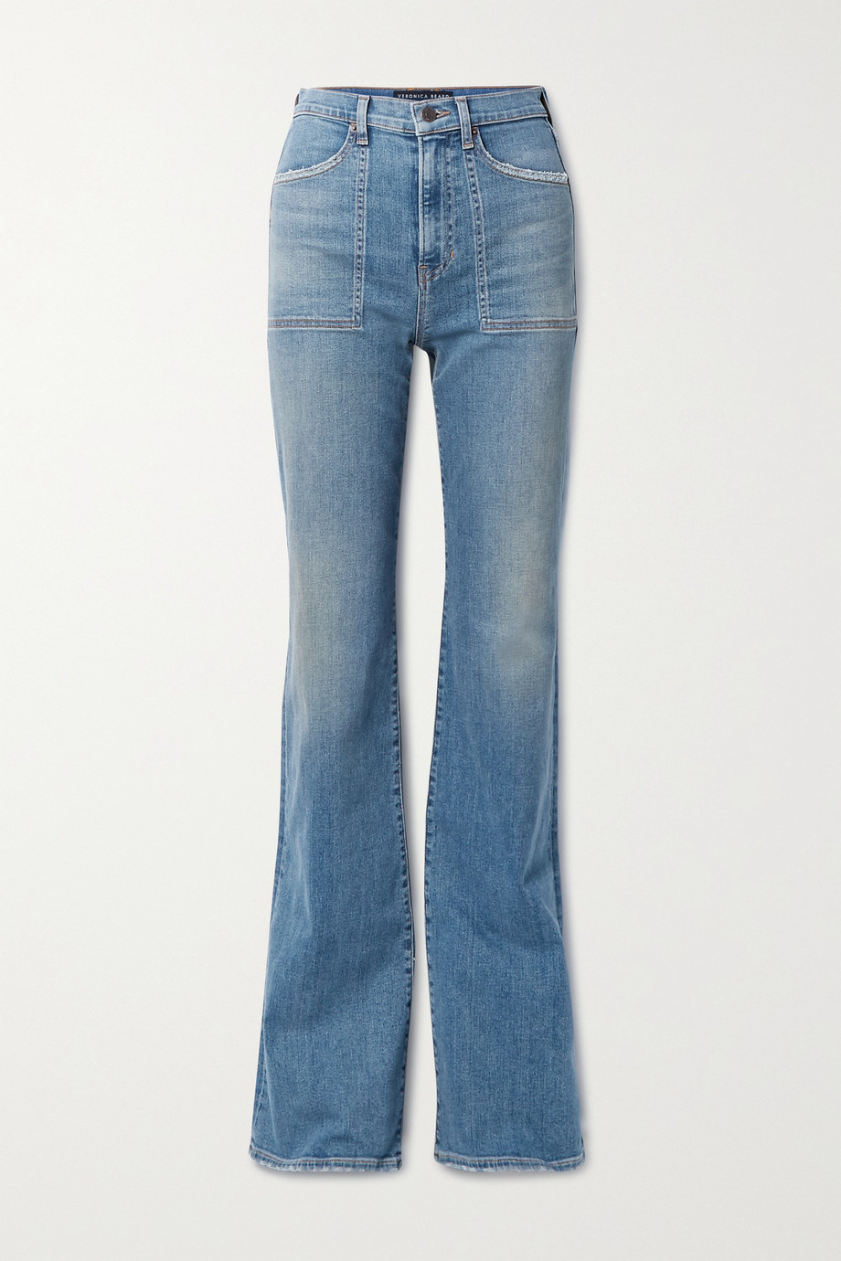 Veronica Beard Crosbie high-rise flared jeans