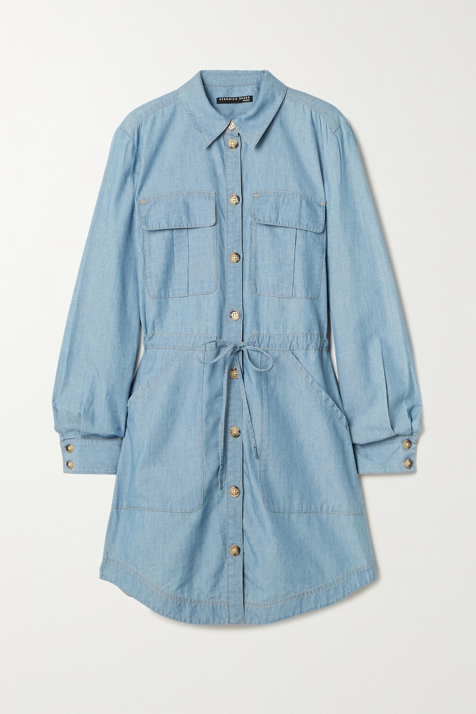 Veronica Beard - Alyse denim mini shirt dress