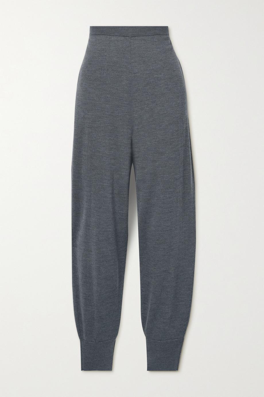 Theory Pantalon de survêtement en laine mérinos