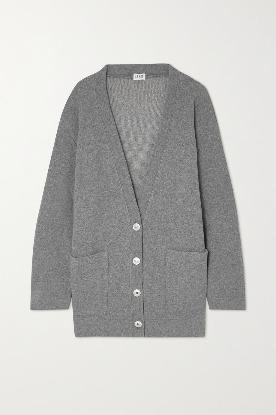 LESET Sienna wool-blend cardigan