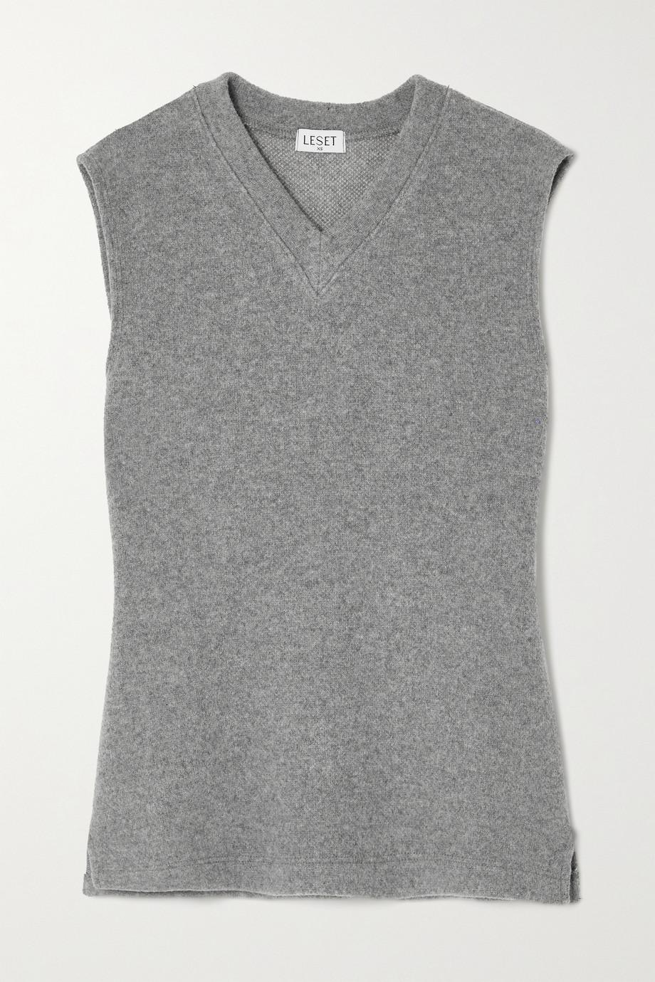 LESET Sienna wool-blend tank