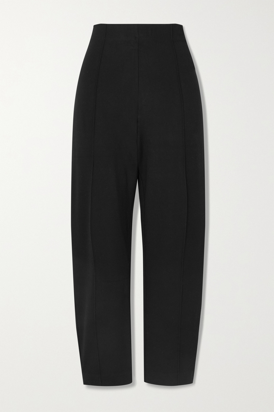 LESET Rio cropped straight-leg stretch-ponte pants
