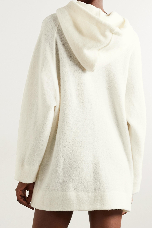 LESET Sweat à capuche oversize en laine mélangée Bella
