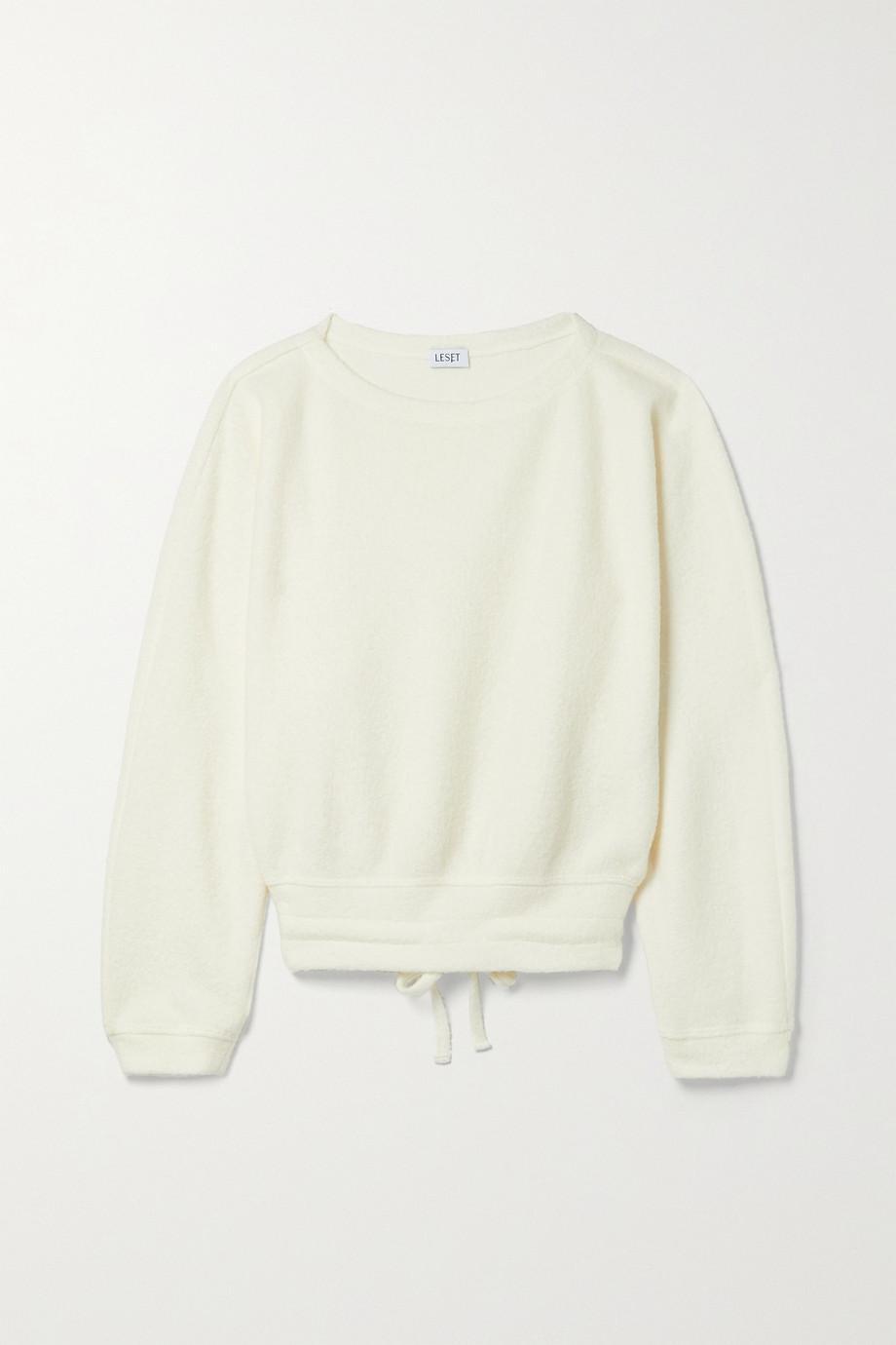 LESET Bella wool-blend sweatshirt