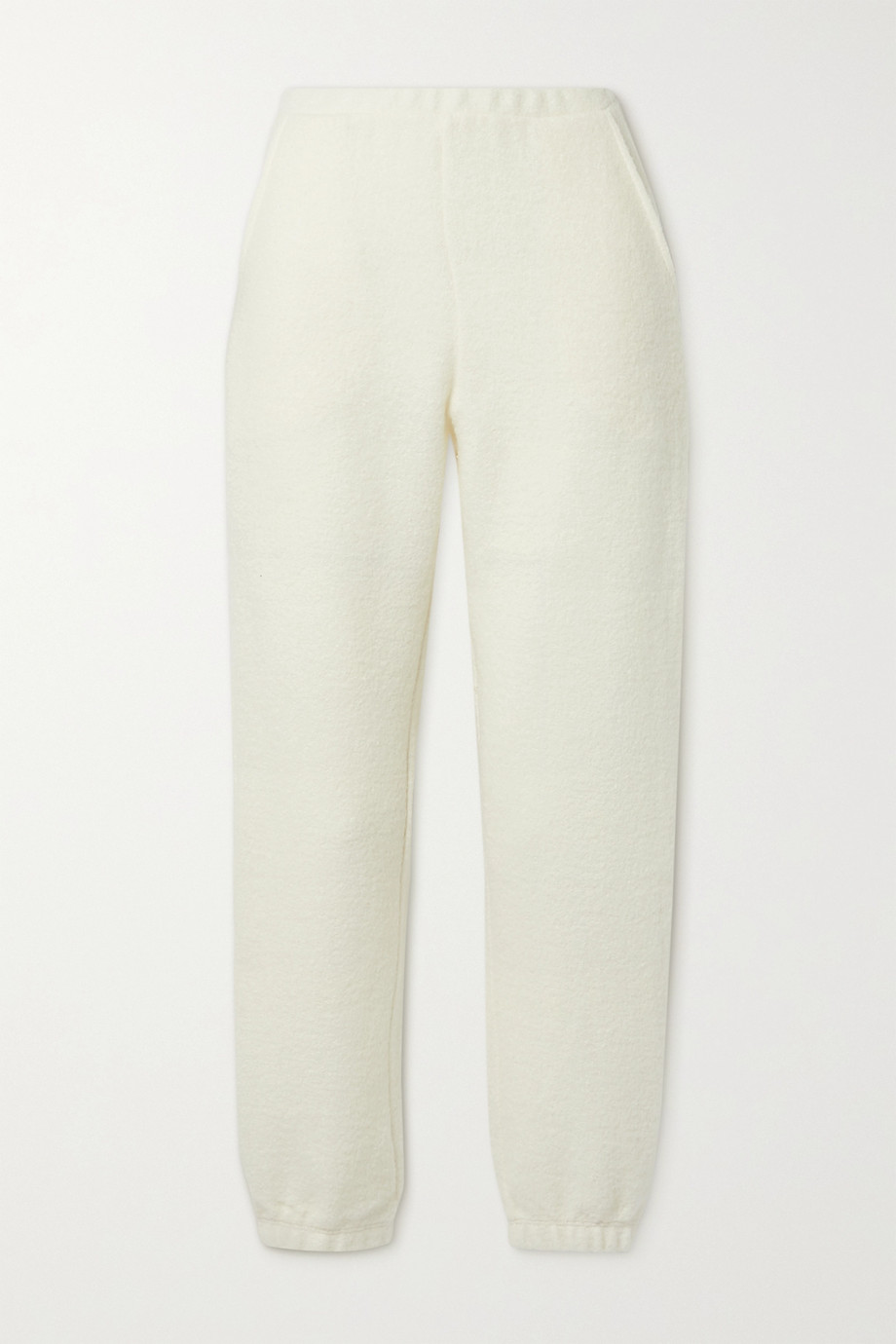 LESET Bella wool-blend track pants