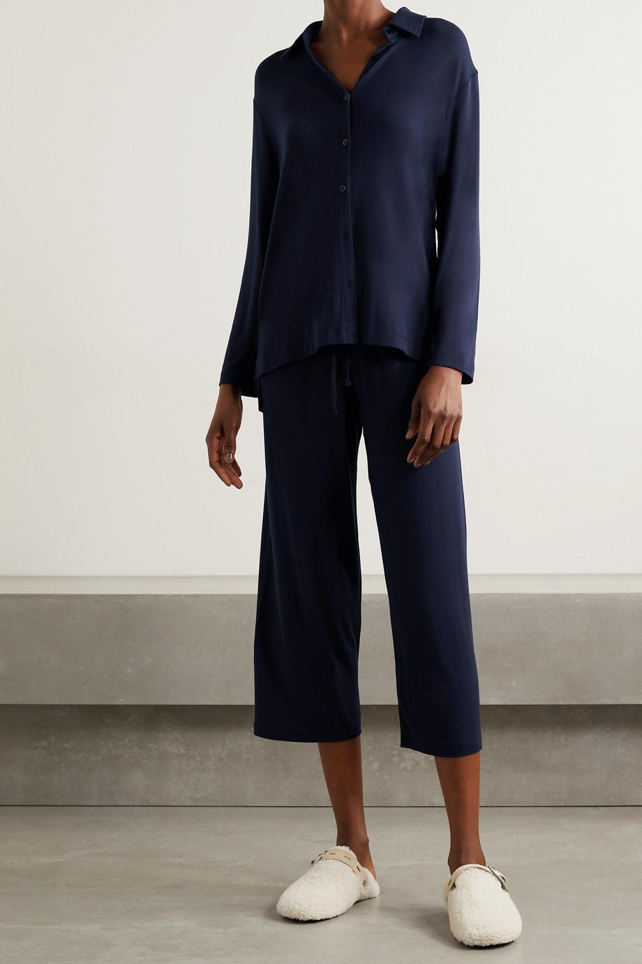 LESET Nora stretch-modal shirt