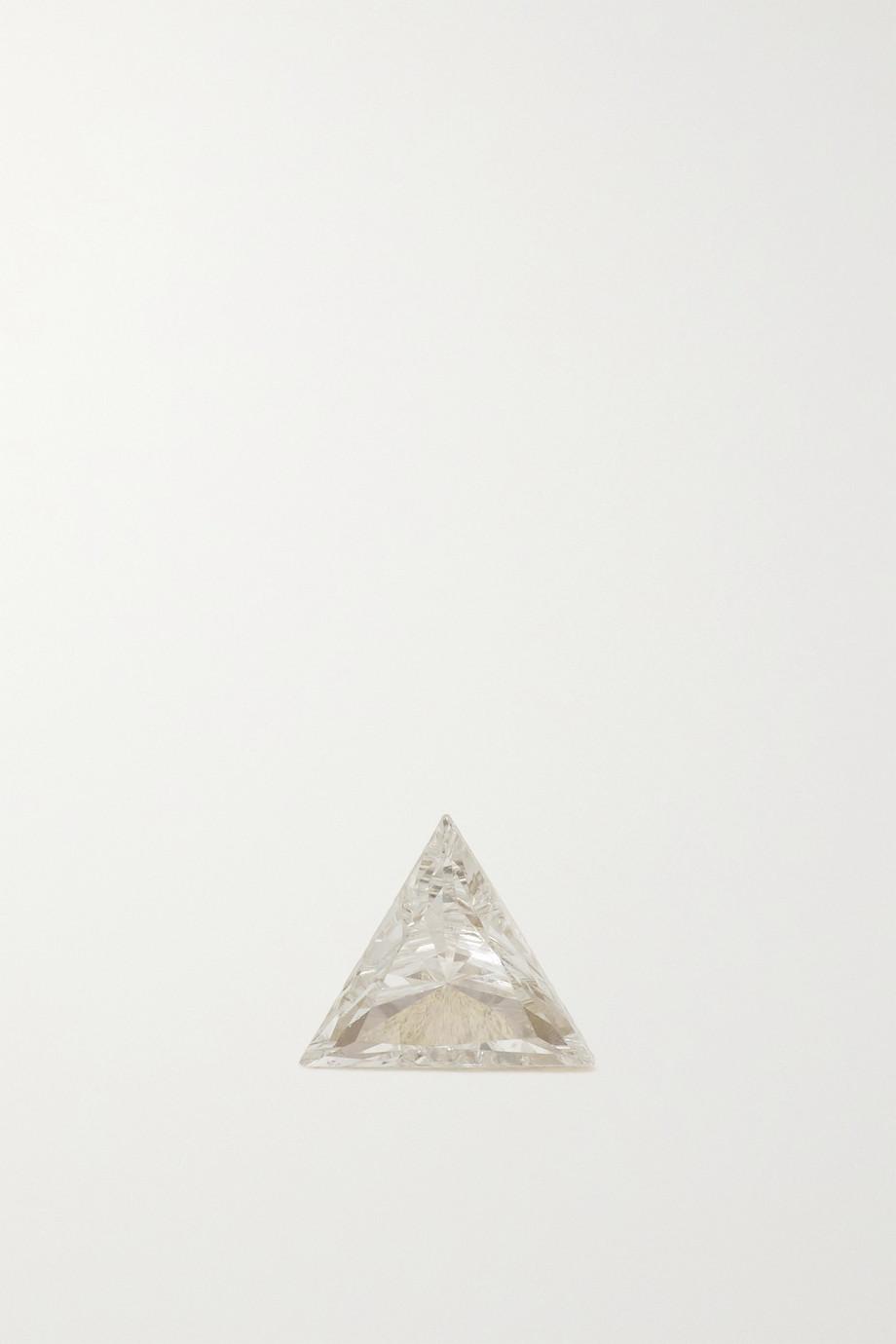 MARIA TASH 3mm Invisible 18-karat gold diamond earring