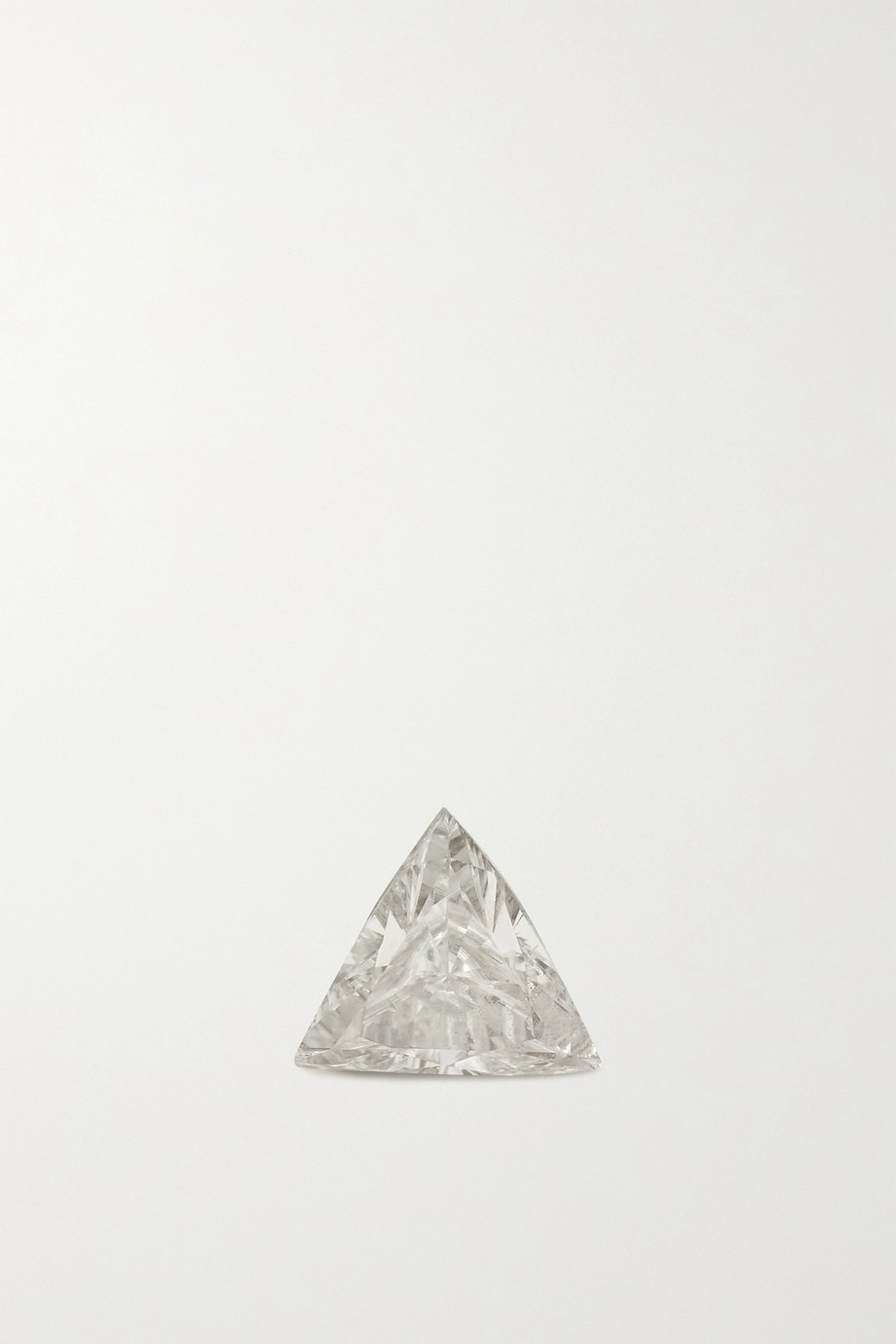 MARIA TASH 3mm Invisible 18-karat white gold diamond earring