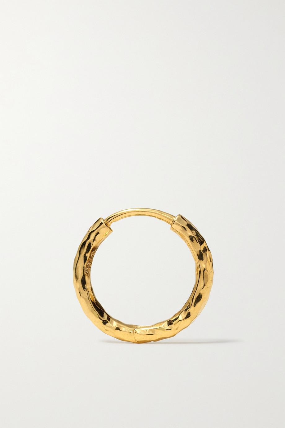 Octavia Elizabeth + NET SUSTAIN Petite Gabby 18-karat recycled gold hoop earrings