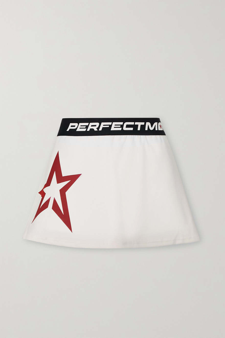 Perfect Moment Starlight printed jersey tennis skirt
