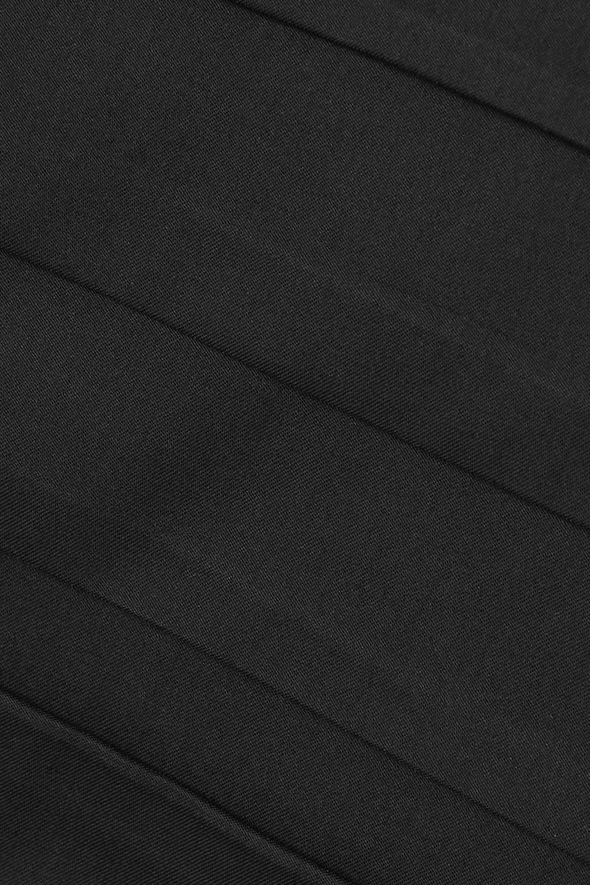 Zeynep Arçay Strapless ruched cotton dress