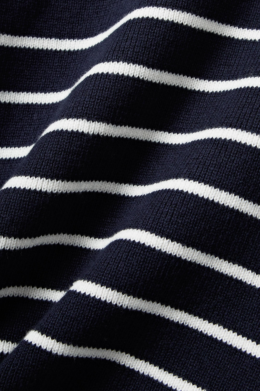 La Ligne Pullover aus einer Baumwoll-Kaschmirmischung mit Streifen