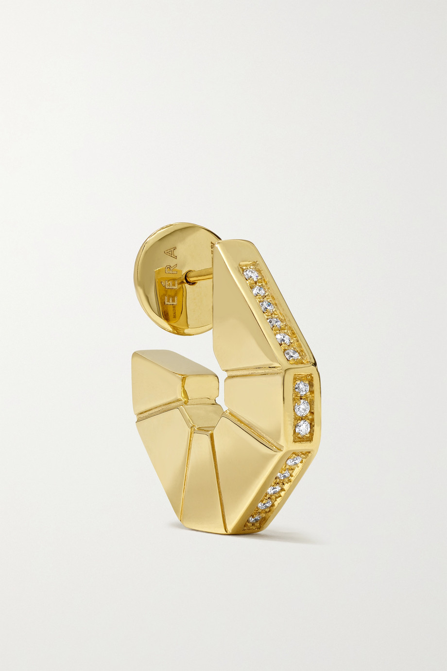 EÉRA Carey 18-karat gold diamond earring