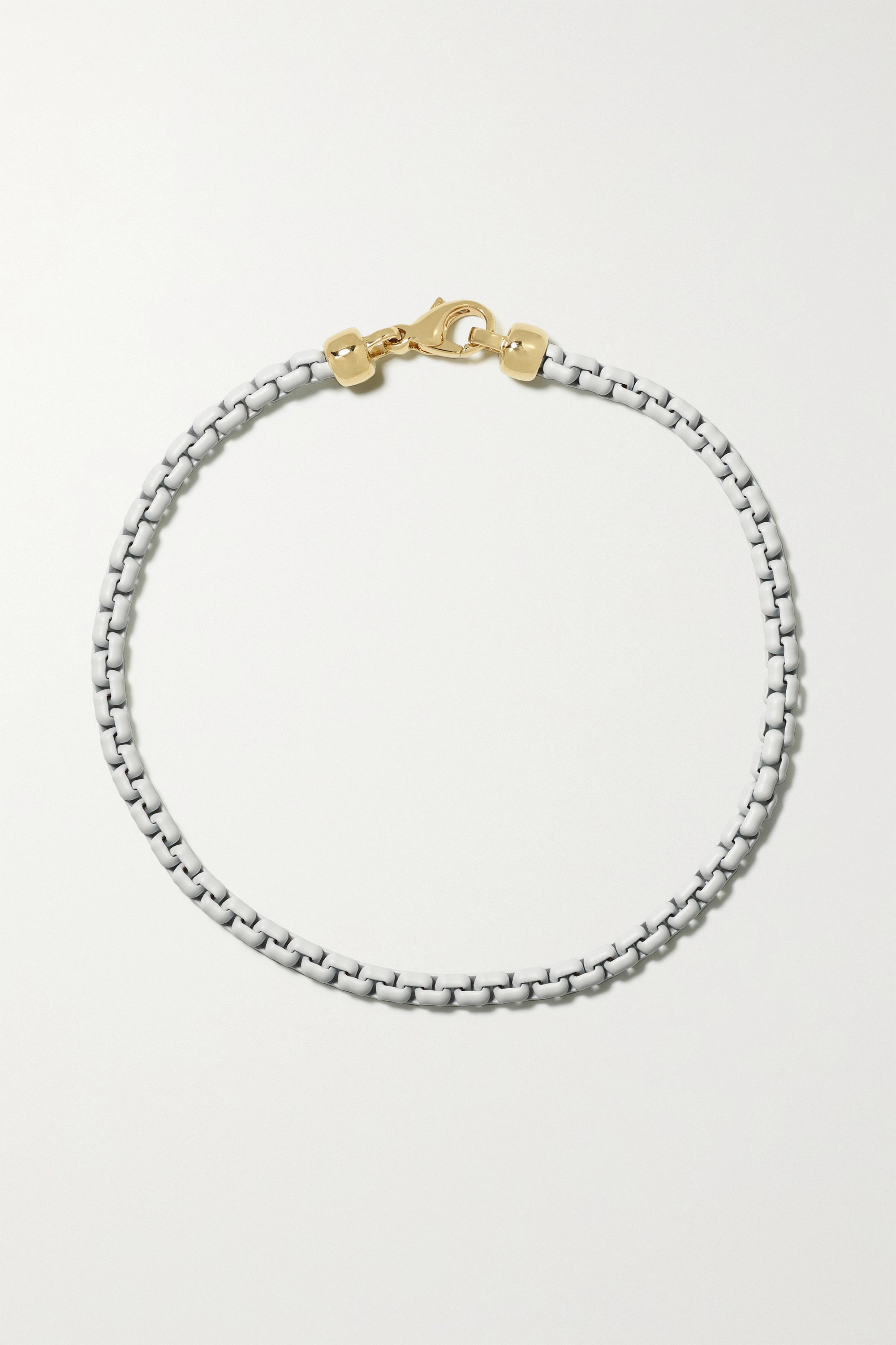 EÉRA Giada silver and gold anklet