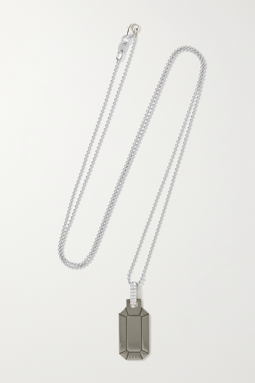 EÉRA - Tokyo 18-karat white gold diamond necklace