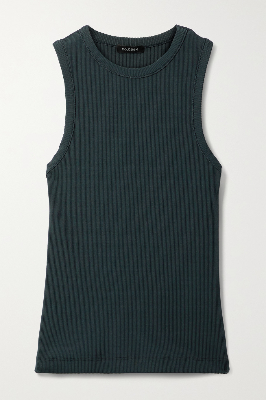GOLDSIGN + NET SUSTAIN ribbed stretch-jersey tank