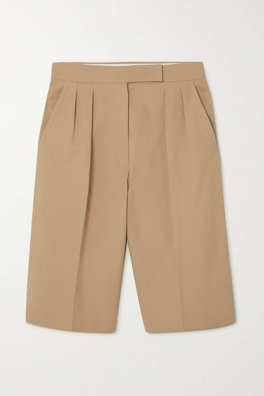 Max Mara Ottuso stretch-cotton shorts