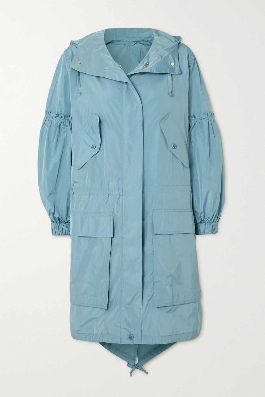 Max Mara Miki gathered taffeta jacket