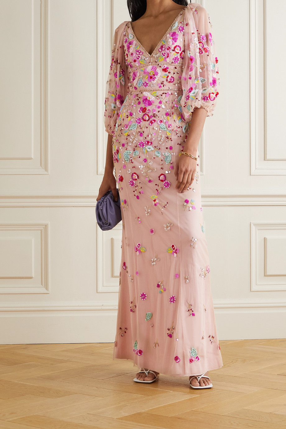 Jenny Packham Sugar Sweet embellished tulle gown